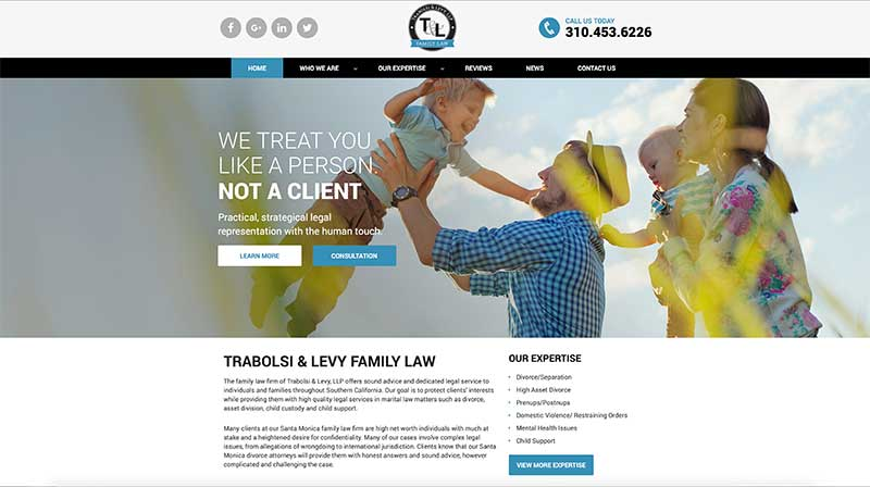 Trabolsi & Levy, LLP Family Law